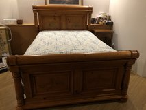 Queen Head/Footboard, Frame and Dresser in Okinawa, Japan