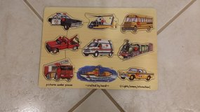 MELISSA and DOUG TRANSPORTATION PEG PUZZLE in St. Charles, Illinois