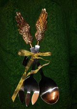 Angel wings serving set in The Woodlands, Texas