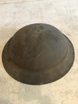 WW1 Steel Helmet in Fort Sam Houston, Texas