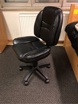 Barely used adjustable leather office chair (used for one month only) in Wiesbaden, GE