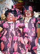 Set of African American Twin Dolls in Alamogordo, New Mexico