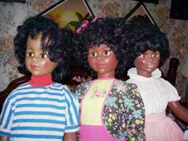 Tall Three African American Dolls in Alamogordo, New Mexico
