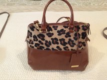 Animal Print & Leather Handbag in Baytown, Texas