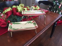 Southern Living At Home Gail Pittman Christmas Memories Appetizer Platter in Kingwood, Texas