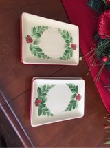 Southern Living At home Gail Pittman Christmas Memories Appetizer Plates in Kingwood, Texas