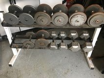 """Dumbbell Set - """"Reduced"""" 165.00 in Spring, Texas"""