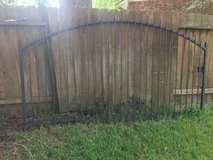 """""""NICE"""" HD Wrought Iron Gate """"REDUCED"""" - $395 in Spring, Texas"""