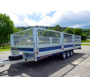 BRIAN JAMES CARGO CONNECT TRAILER - 5.5M BED in Lakenheath, UK