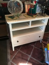 Small dresser solid wood one drawer 36 inches wide 19 inches deep 33 inches tall in Kingwood, Texas