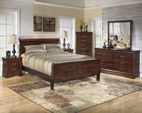 New queen bedroom Set,still in boxes in Wilmington, North Carolina