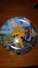 The Lion king decorative plate in Chicago, Illinois