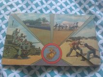 Camp Lejeune postcard book in Camp Lejeune, North Carolina