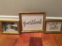Gold Picture Frames—1-8x10, 2-5x7 in Westmont, Illinois