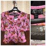 NWT Top Shop Floral Blouse in Okinawa, Japan
