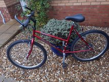 Red Raleigh Red Rock in Lakenheath, UK