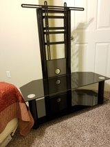 black glass tv stand in Lawton, Oklahoma