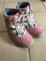 Little girl's Timberland snow boots in Naperville, Illinois