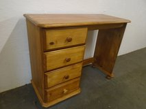 Pine dressing table, 4 drawer in Lakenheath, UK