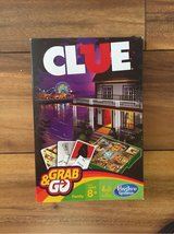 Clue board game grab and go ... travel game Like New in Morris, Illinois