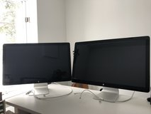 (2) Apple Thunderbolt Displays in Schaumburg, Illinois