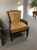 Side chair- gold upholstery in Spring, Texas
