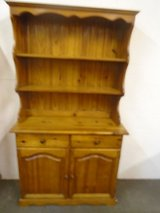 Pine kitchen dresser in Lakenheath, UK