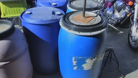 55 gal water storage containers X 2 in Yucca Valley, California
