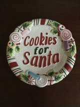 "Fitz & Floyd ""Cookies for Santa"" Plate in Conroe, Texas"