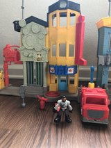Imaginext Fire Station with Fire Truck and Figures in Clarksville, Tennessee