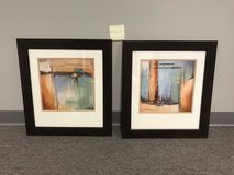 Framed abstract art - pair in Kingwood, Texas
