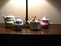 Teapots in Kingwood, Texas