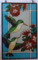Stained Glass Hummingbirds in Alamogordo, New Mexico