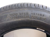 2 Like new Firestone tires FT140 205/65R/16 in Beaufort, South Carolina