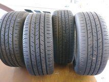4 Brand new ContiProContact tires size SSR 225/45R17 in Beaufort, South Carolina