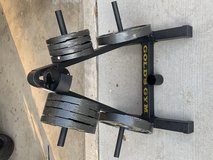 Golds gym plates in Camp Pendleton, California