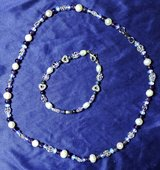 Real Fresh Water Pearl Necklace and Bracelet in Alamogordo, New Mexico