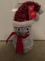 NWT Snowman Tinsel Indoor/Outdoor Decoration in Camp Lejeune, North Carolina