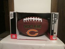 CHICAGO BEARS FULL SIZE FOOTBALL W/TEE - NEW IN BOX in Sandwich, Illinois