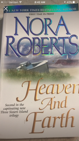 Nora Roberts book in Camp Lejeune, North Carolina