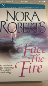 Nora Roberts Face the Fire in Camp Lejeune, North Carolina