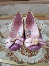 Disney Rapunzel Costume Shoes - Girls Size 11/12 - Great For Dress Up in Chicago, Illinois