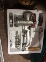 NEW BOXED HOMEMADE CAST IRON MINCER in Lakenheath, UK