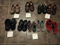 Toddler size shoes from size 6.5-9 in Travis AFB, California