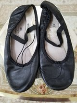 ABT Dance Wear Company - Black Jazz Shoes - Girls Size five - No rips in Lockport, Illinois