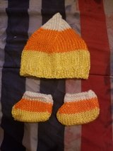 Candy corn crochet outfit in Fort Leonard Wood, Missouri