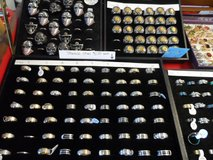 stainless steel Men's Skull Rings reduced from $15 (pic top right) in Cherry Point, North Carolina