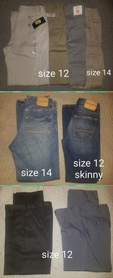 LOT of Jeans/pants/slacks ~ YOUTH 12 & 14 in Kingwood, Texas