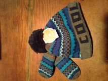 Toddler hat and mittens in Yorkville, Illinois