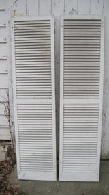 8 Pair Vintage Solid Wood Shutters in Fort Campbell, Kentucky